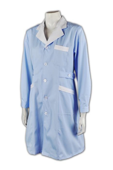 SKNU005 裙裝護士服定制  團體制服設計  護士服中心  診所制服批發商   舒特呢  護士服價格