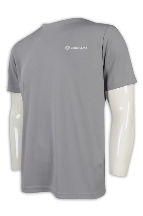T962 大量訂造圓領T恤 供應大碼寬鬆工作T恤 100%滌 T恤製造商