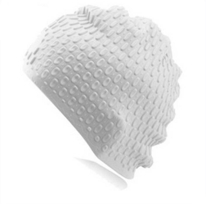 SKHA001 製造新款时尚游泳帽  設計成人男女通用硅胶泳帽   定購泡泡水滴游泳帽   防滑游泳帽製造商  硅膠  泳帽價格
