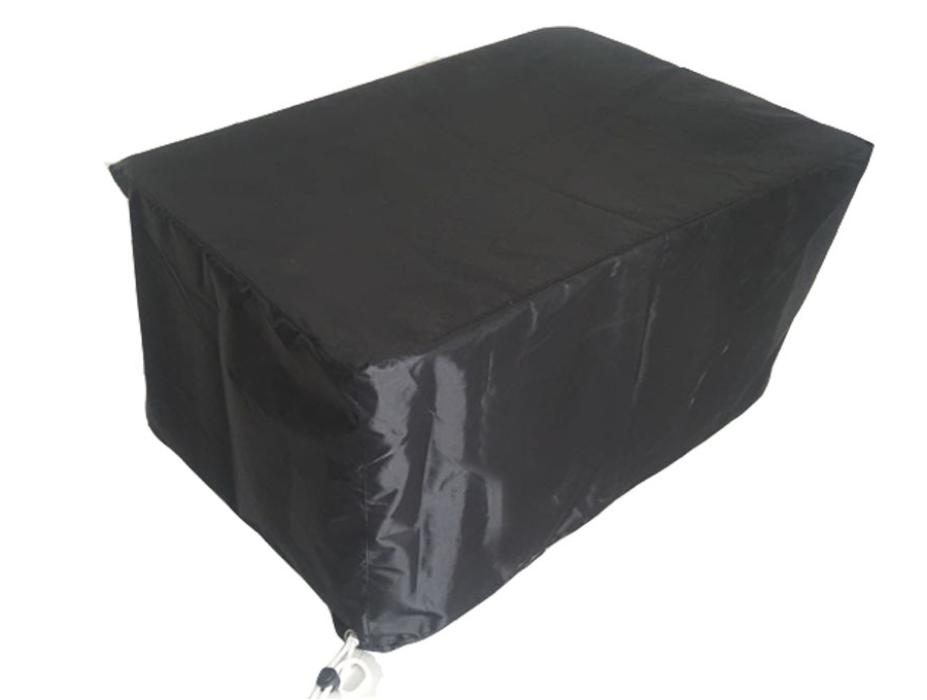 SC034 訂購黑色尼龍飾物架套  訂造家具防水防塵套   枱防塵罩 網上下單飾物架套  飾物架套hk中心