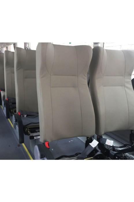 SC039 訂購大巴車客車頭套座椅套 米色商務型座套 椅套hk中心