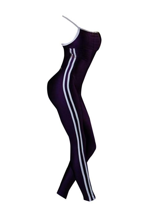 SKTF030 露背瑜伽健身連體褲
