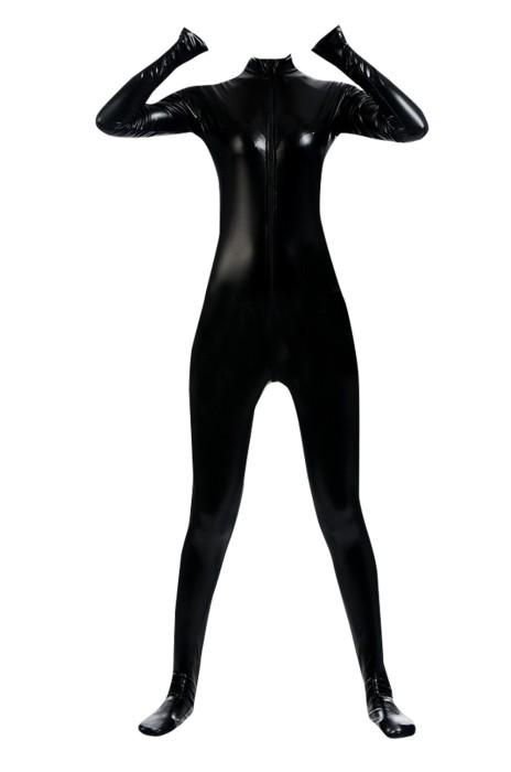 SKTF033 黑色塗膠緊身連身衣 任何仁 anyone 造型