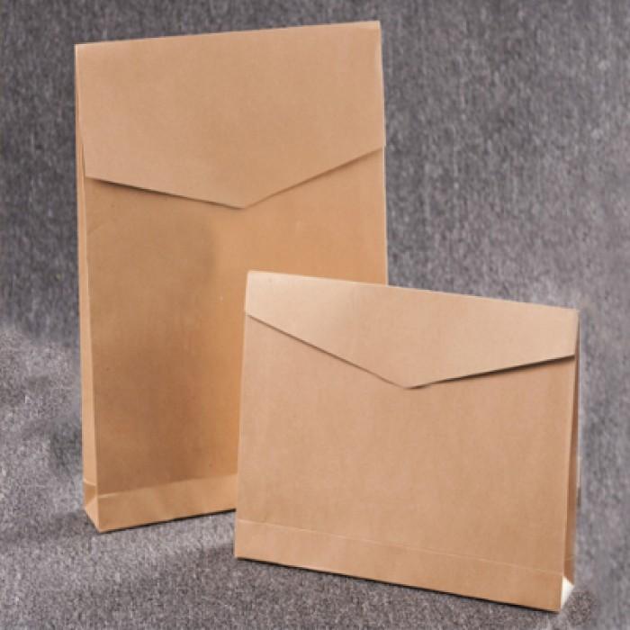 SKEPB005 訂做紙袋購物袋 服裝快遞袋 環保牛皮紙信封式 環保袋供應商