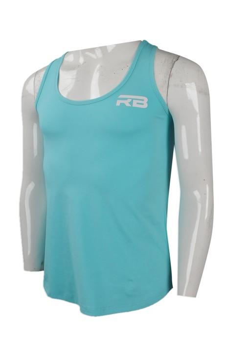VT197 網上下單男裝背心T恤 來樣訂做背心T恤款 澳洲 RB  健身中心 背心T恤網上專營店