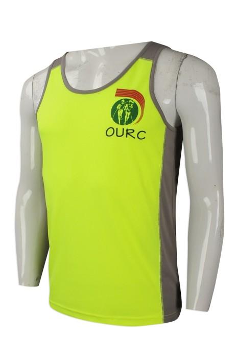 VT204 團體訂做背心T恤 大量訂購背心T恤 跑會 跑步組織 製作運動背心T恤生產商