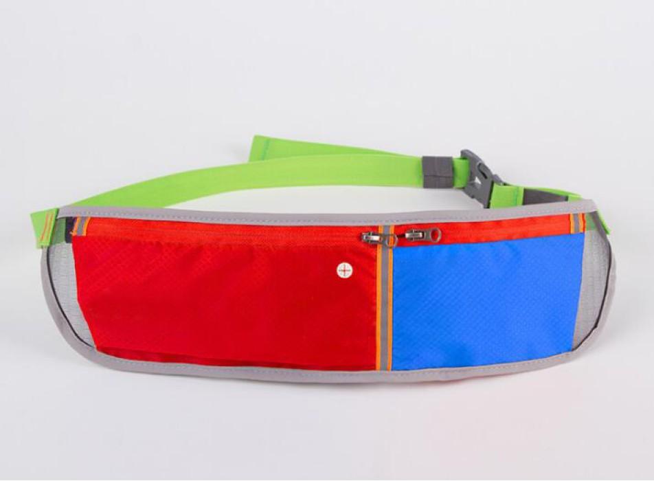 PK020 製造貼身腰包款式    設計防水腰包款式   行山 長跑 訂做拼色腰包款式  腰包生產商