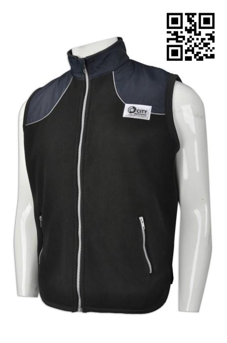 V159  來樣訂造背心外套  商場保安 警衛保安 商場護衛 製作工作專用背心外套 反光章 網上下單背心外套 背心外套製造商