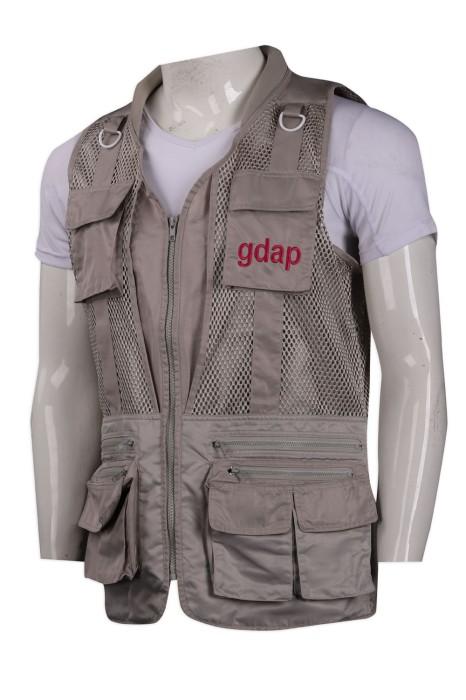 V179 製作雙網眼背心外套 釣魚 戰術 野戰 攝影多袋背心 背心外套製造商
