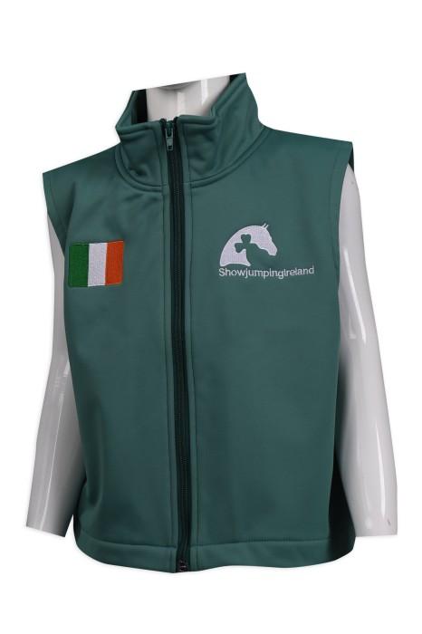 V188 設計拉鏈背心外套 100滌 複合 防水 愛爾蘭 馬術比賽 背心外套專門店