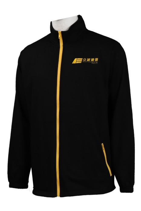 J790 製作綉花logo風褸外套 立誠搬運  風褸外套專門店