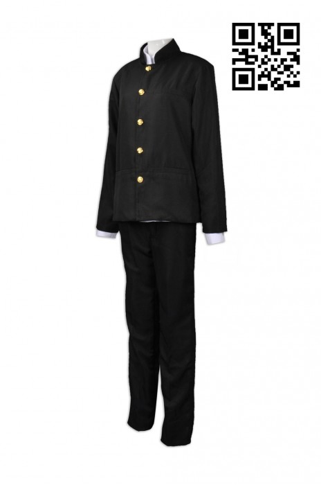 CP007  個人設計cosplay 網上下單cosplay校服 中山裝 角色扮演 戲劇 度身訂造cosplay cosplay製造商