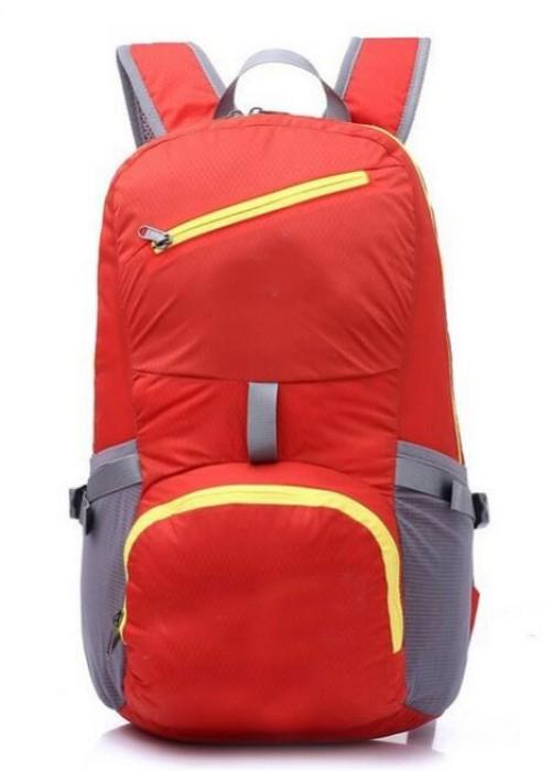 FB011 設計雙肩折疊包款式   訂做旅行折疊包款式  運動背包 可收縮背囊 輕便 收縮袋 收納背包  製造運動折疊包款式  折疊包廠房