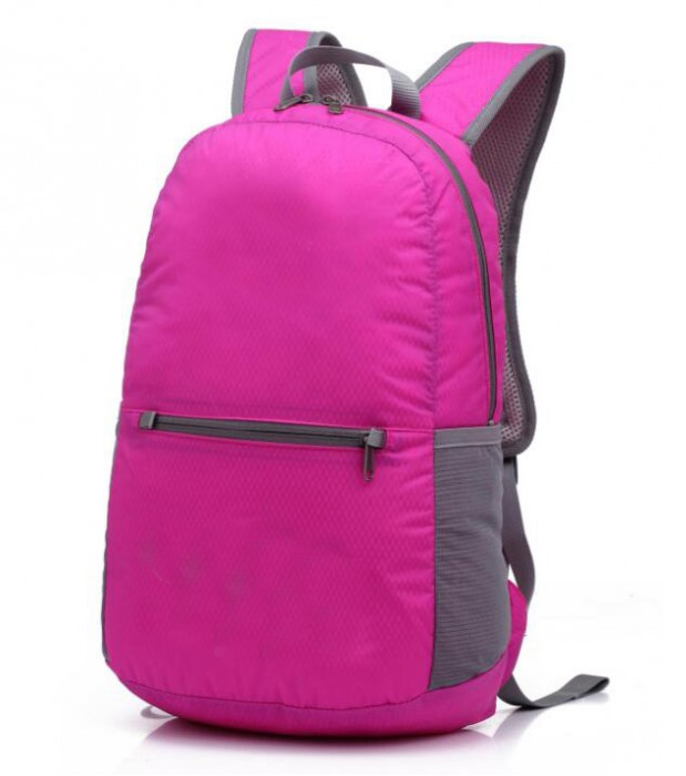 FB008 自訂旅行折疊包款式  訂製運動折疊包款式  運動背包 可收縮背囊 輕便 收縮袋 收納背包  製作折疊包款式   折疊包專門店