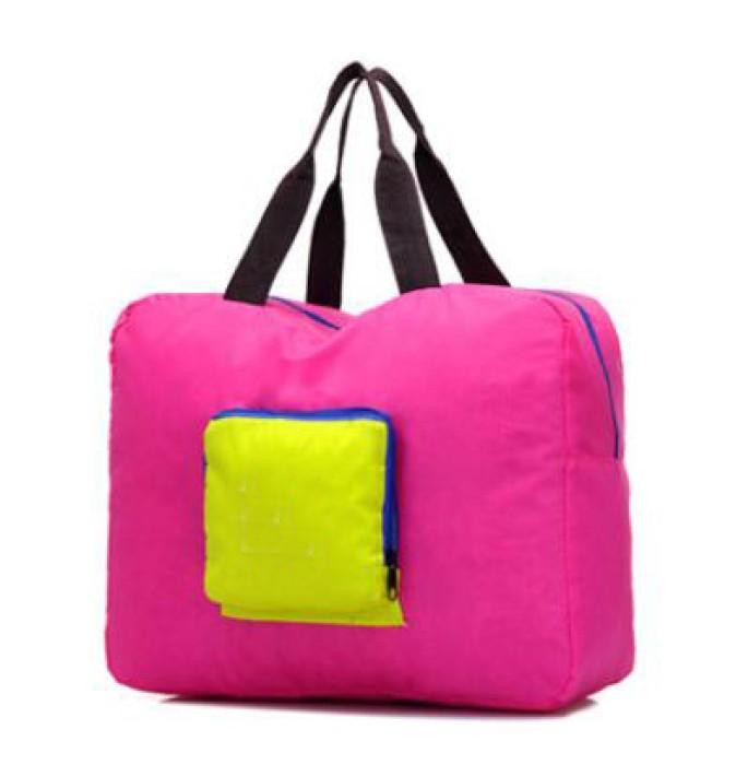 FB001 訂做旅行折疊包款式    製作大容量折疊包款式   可收縮背囊 輕便 收縮袋  設計手提折疊包款式   折疊包工廠