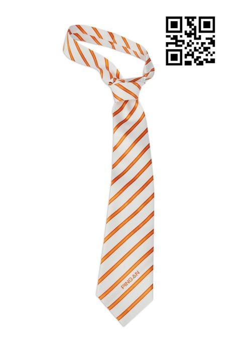 BT016 自訂條紋款式領呔   訂造真絲領呔款式  金融保險業  社呔 設計LOGO領呔款式   領呔製造商