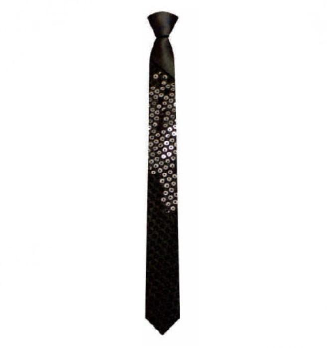 BT027 訂做亮片領帶 男女士領帶 正裝韓版窄領帶 婚慶晚會派對演出舞臺領帶 领带生產商