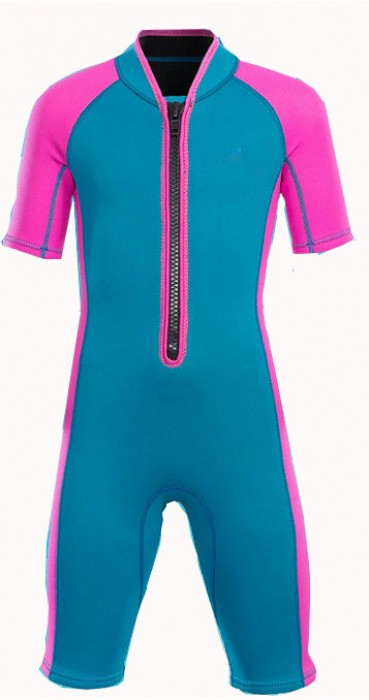 ADS009  製造兒童潛水衣款式    設計連體潛水衣款式  2MM  訂做短袖潛水衣款式   潛水衣中心