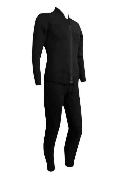 ADS023  濕式掛襠式分體潛水服 潛水衣 沖浪服 潛水裝備 浮潛衣3mm CR料
