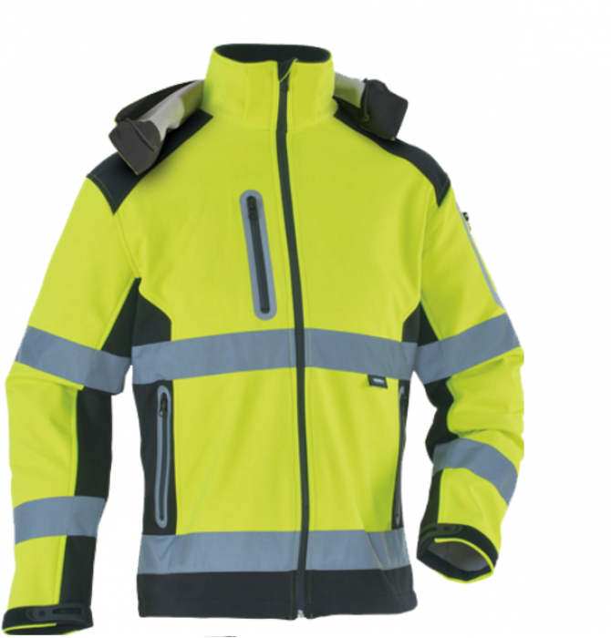 SKRC005  設計螢光軟殼衣反光衣  訂購軟殼衣建築施工服 製造路政防護服沖鋒衣  反光外套專門店  反光外套價格