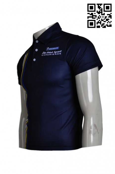 P587 團體短袖POLO衫設計訂製 熱升華印製POLO衫 羽毛球 乒乓球  潮款POLO衫 POLO衫供應商