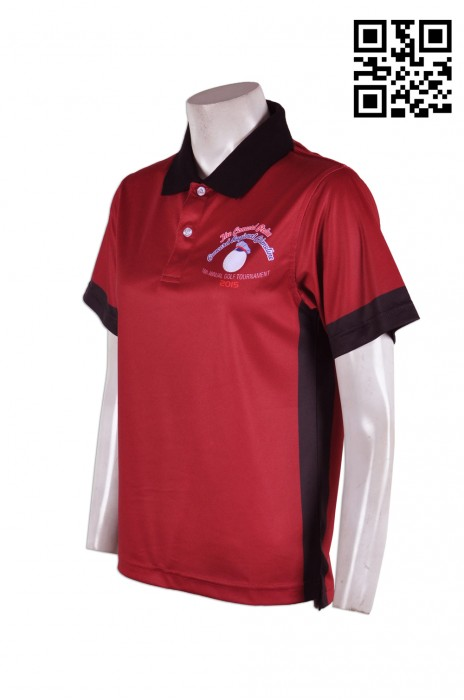 P585 團體制服熱升華polo恤 度身訂做  俱樂部團體運動polo恤 羽毛球 乒乓球 熱升華polo恤 熱升華產品專門店