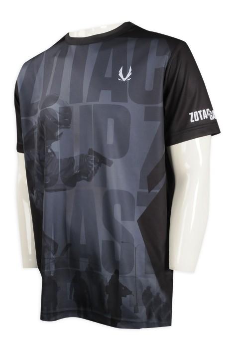 T935 訂製熱升華T恤 全件印花 ZOTAC GAMING電競遊戲 熱升華專門店