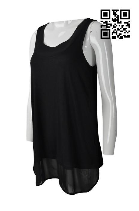 FA341  訂造女士背心時裝款式    設計淨色時裝款式    製作度身時裝款式    時裝款生產商