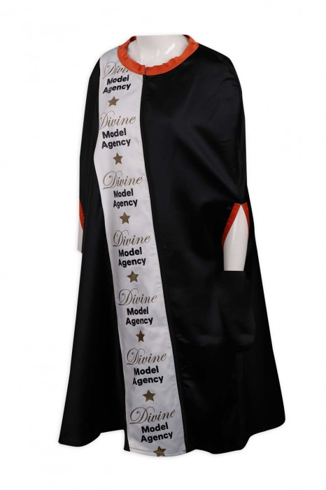 FA350 訂製禮袍 模特兒後台 準備更衣袍 選美小姐 長袍 禮袍製造商