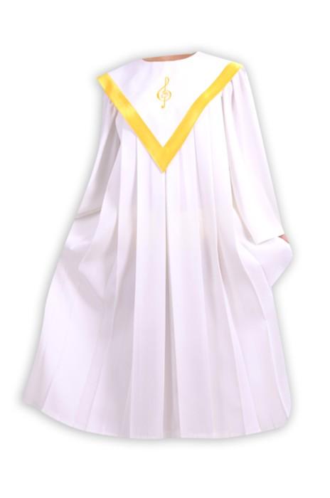 SKPT034 製作聖服 聖詩服 兒童主日學 贊美服 唱詩班 詩班服 教會服裝 洗禮服 聖詩袍專門店