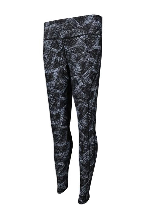 U308 團體訂購緊身運動褲 訂製運動瑜伽褲 熱升華效果   彈力緊身褲 澳洲 ijasportswear 運動褲生產商