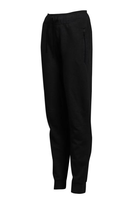 U332 製作束腳運動褲 拉鏈口袋 運動褲專門店