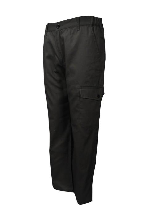 H226 度身訂製斜褲款式  訂製淨色款斜褲 左右橡筋腰款 脾袋褲 設計斜褲供應商