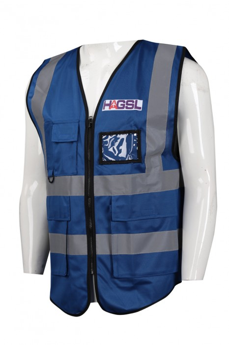 D262 訂造反光條工業背心外套 香港 航空地勤服務 義工隊 工業制服製造商