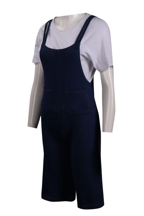 D265 製作牛仔工業制服 65%棉 30滌 5%氫綸 工業制服專門店