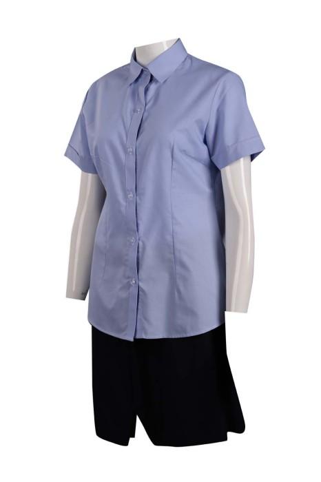 UN169 訂做女裝工作制服套裝 澳門環保局 公司製服生產商