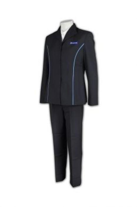 UN151 訂做制服套裝 供應 企業 制服 制服批發商  返工 制服 專業量身定制