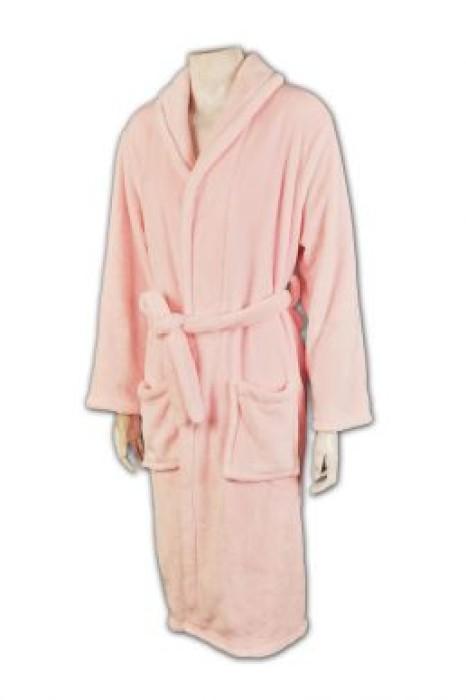 UN152 訂製女士浴袍 設計款式 選擇優質布料  浴袍專門店