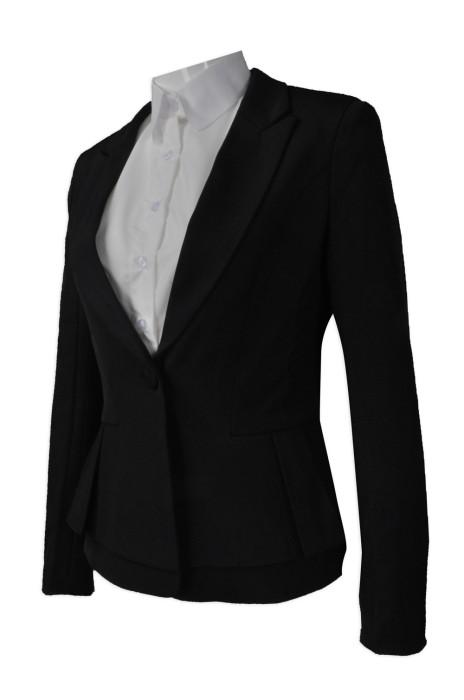 BWS078 設計修身女裝西裝  來樣訂造女西裝   網上下單女西裝  女西裝專門店