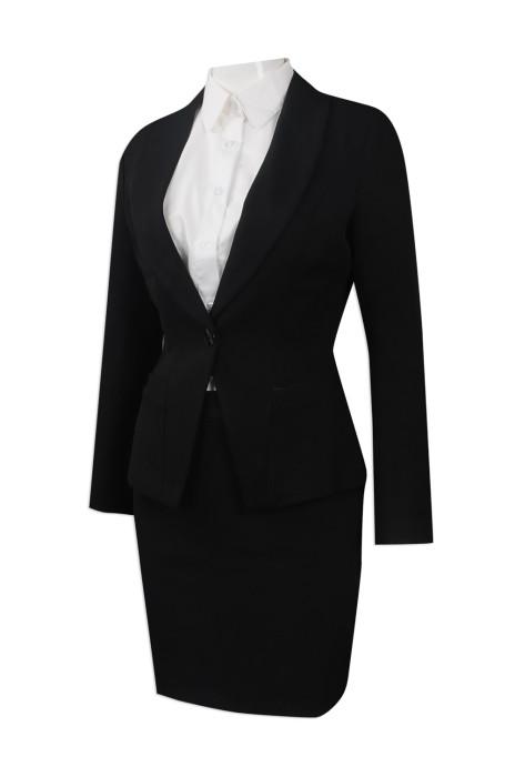 BWS085 訂製行政女裝西服 樓面西裝 訂購修身西服裙裝 女裝西裝製造商