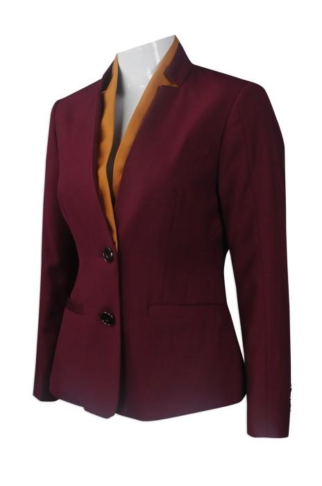 BWS092 團體訂做女西裝外套 大量訂購女西裝款式 樓面西裝 設計女西裝外套供應商