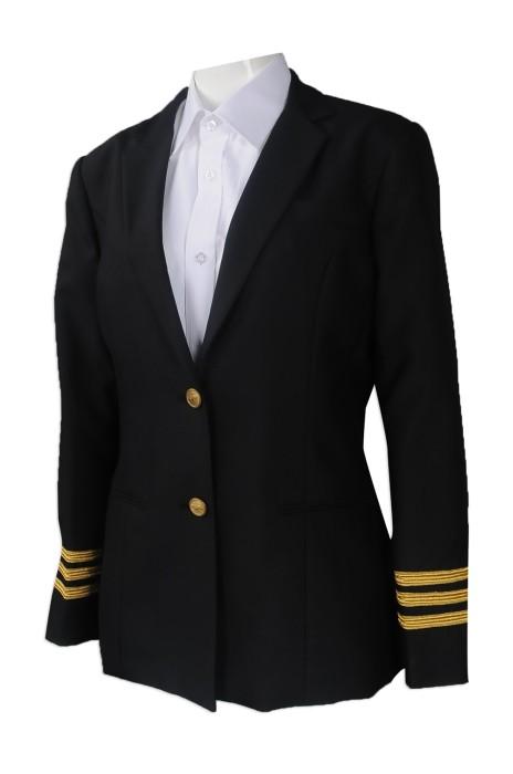 BWS094 來樣訂做修身女西裝 製作女西裝外套 設計女西裝製造商