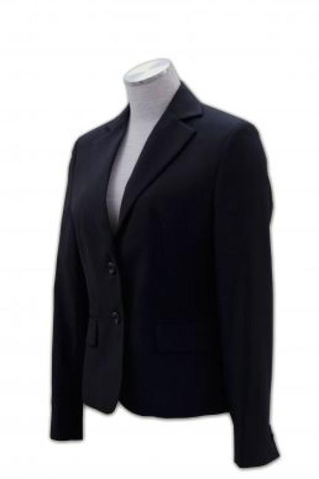 BS231 訂造長款外套西服 行政返工外套 西服外套搭配 西服網站