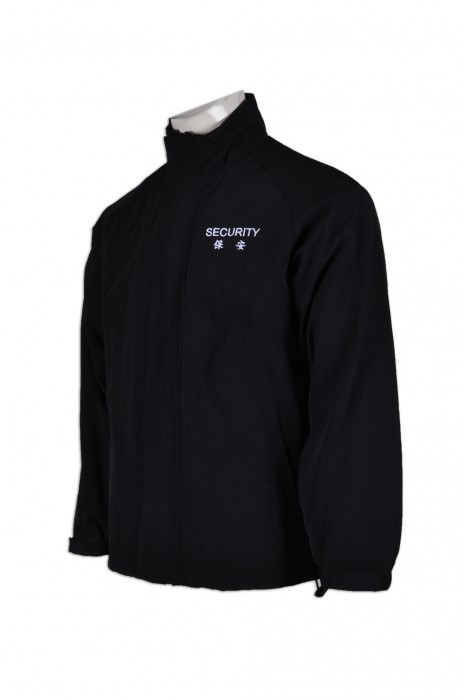 SE051量身訂做保安風褸  設計保安制服工衣  業主立案法團 訂做保安制服布料  保安制服專門店HK