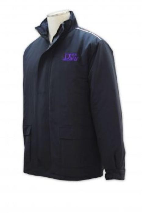 SE036 制服外套來版定制 物業保安外套 制服外套設計 業主立案法團 保安制服專門店