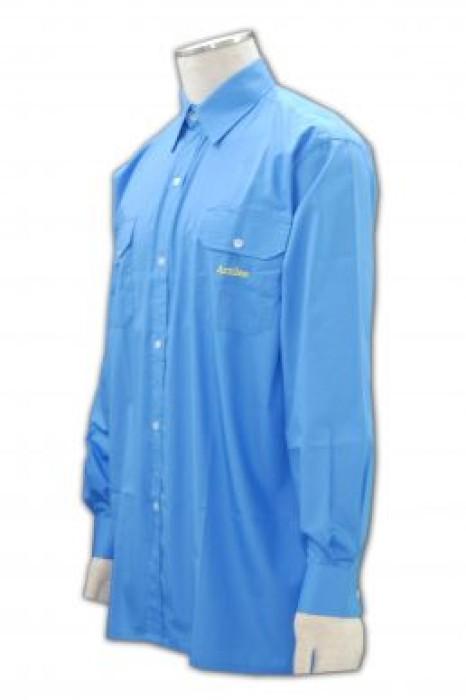 SE042 保安恤衫制服 量身訂做 專業定制團體制服 保安制服生產廠家