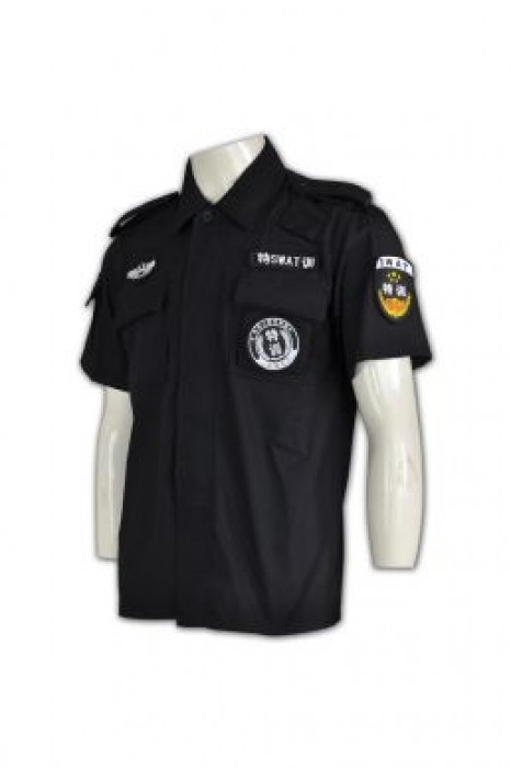 SE043  特警制服上衣 供應訂購 保安制服款式選擇 保安制服供應商