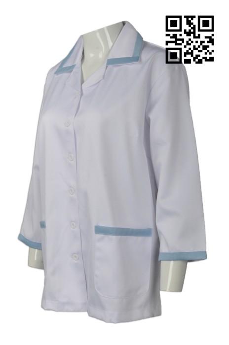 NU040 網上下單診所制服  度身訂造診所制服  來樣訂造診所制服  診所制服製衣廠
