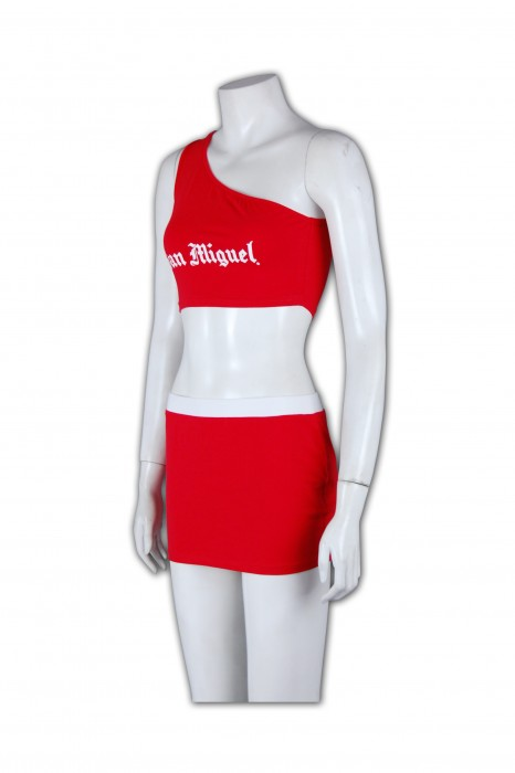 BG015 訂製酒吧宣傳女郎 酒吧宣傳女郎制服 訂造推廣啤酒女郎衫專門店