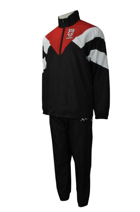 SU259 網上下單校服套裝 團體訂做校服套裝款式 風褸校服 澳洲運動校服 設計 供應商